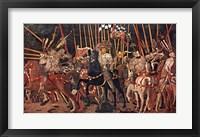 Framed Battle of San Romano