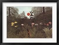 Framed Virgin Forest