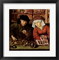 Framed Moneylender and His Wife