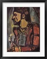 Framed Old King