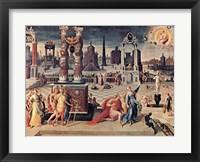 Framed Augustus and Sibyl
