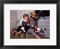 Framed Kids and Kids
