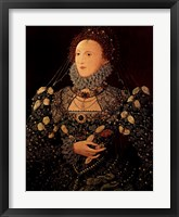 Framed Queen Elizabeth I
