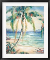 Tropical Breeze II Framed Print