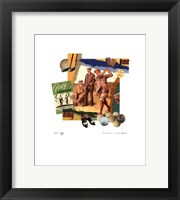 Tee Off Framed Print