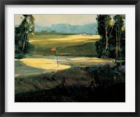 The 1st Tee Framed Print