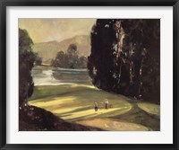 Putt for Par Framed Print