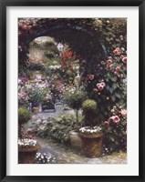 Framed Town Garden Nursery
