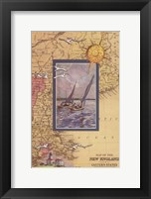 Framed Atlantic Sailing