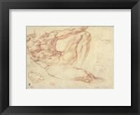 Framed Male Nude