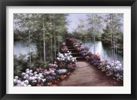 Framed Bridge of Flowers