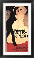 Framed Bianco & Nero