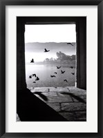 Framed Lake of Pushkar