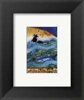 Framed Ocean Life II (Moon)