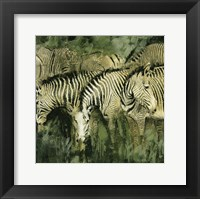 Heart of the Jungle I Framed Print