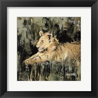 Heart of the Jungle IV Framed Print