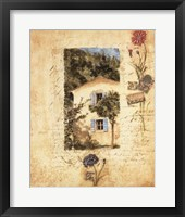 Country Wildflowers II Framed Print