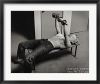 Framed Marilyn Monroe, Hollywood (with weights), c.1952