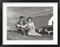 Framed Jack and Jackie, 1953