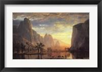 Framed Valley of the Yosemite