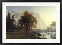 El Capitan, Yosemite Valley, California, 1875 Framed Print