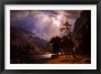 Half Dome, Yosemite Valley Framed Print