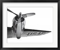Framed Eisenhower's Airforce One
