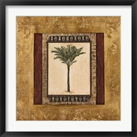 Framed Stately Palm I