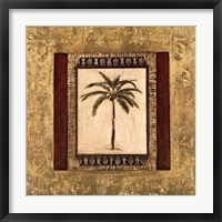 Framed Stately Palm II