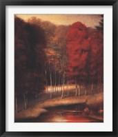 Framed Vermilion Meadow