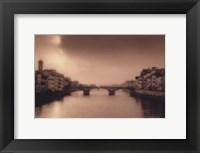 Framed Ponti Santa Trinita, Florence