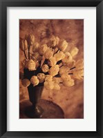 Framed Antique Tulips II