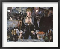 Framed Bar At the Folies-Bergere