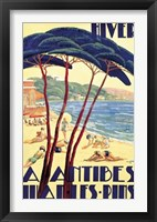 Framed Antibes/Hiver, ca. 1930