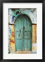Framed Arched Doorway [white border] (19-1/2 x 27-1/2)