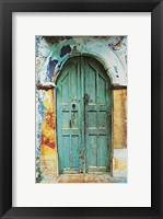Framed Arched Doorway [black border] (13-3/4 x 19-1/2)