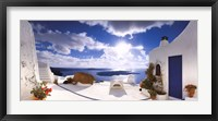 Framed Mediterranean Afternoon