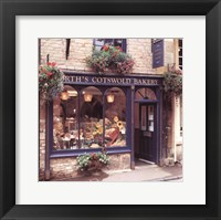 Framed Cotswold Bakery