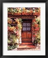 Framed Flower Cottage