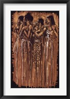 Sisters in Spirit (24 x 34) Framed Print