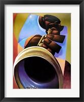 Mo' Trumpet Framed Print