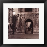 Framed Plaza de San Francisco
