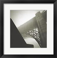Framed Golden Gate Bridge, Study 2