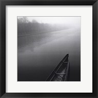 Framed Tranquil Boat