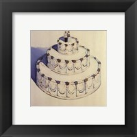Framed Wedding Cake 1962