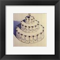 Framed Wedding Cake 1962