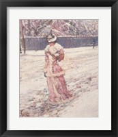 Framed Lady in Pink