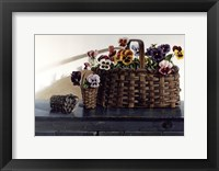 May Baskets Framed Print