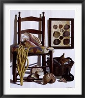 Framed Beachcomber's Basket, 1989
