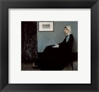 Framed Portrait of the Artist's Mother